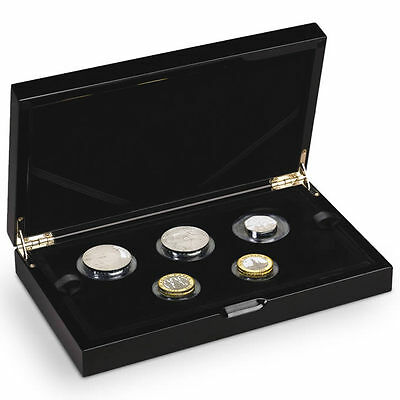 The Royal Mint 2015 UK Silver Proof Piedfort Coin Set - D15PFCS