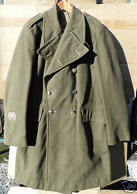 Genuine British Army Issue Greatcoat -Dismounted -1951 Pattern -Size 12