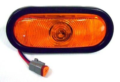 Trucklite Oval Amber Strobe Light 92551Y NEW Made in USA Amber Emergency Light