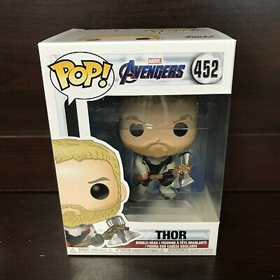 "Funko Pop Marvel Avengers Endgame : THOR #452 Vinyl Figure ""MINT"" -IN STOCK-"