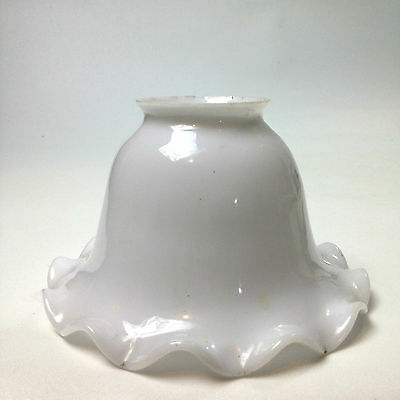 Vintage Milk GLASS CEILING LIGHT SHADE FITTING