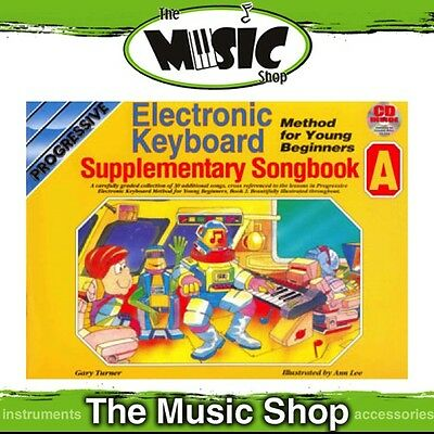 Progressive Young Beginners' Electronic Keyboard Supplementary Songbook A & CD