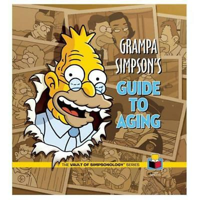 Grampa Simpson's Guide To Aging – The Simpsons Funny Hardcover Book Old Grandpa