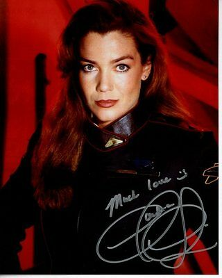 CLAUDIA CHRISTIAN Signed Autographed BABYLON 5 SUSAN IVANOVA Photo