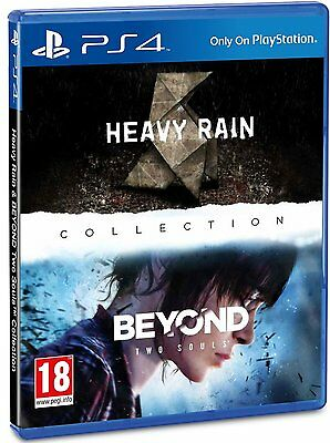 Heavy Rain & Beyond Two Souls Collection PS4 *NEW!* + Warranty!