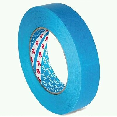 3M Blue Detailing Masking Tape Genuine, 19mm x 50m Genuine