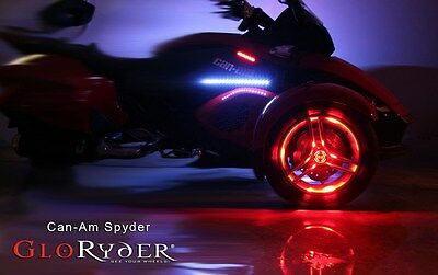 Wheel Lights for Can Am Spyder - Remote Control - FIts 2 Wheels by GloRyder
