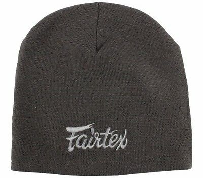 Fairtex Beanie / Hat BN2 Grey - Muay Thai Kick Boxing MMA