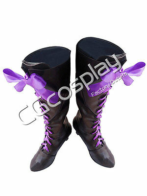 New Free Shipping Cosplay shoes Black Butler Alois Trancy New in Stock Retail