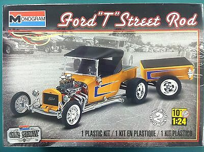 Monogram 1/24 Ford T Street Rod Plastic Model Kit 85-4336