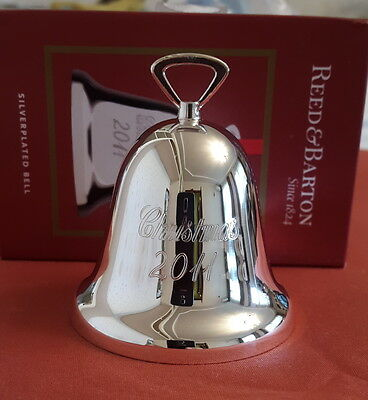 Reed & Barton 2011 Silver-plated Christmas Bell