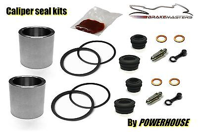 Yamaha RD350 YPVS LC2 31K front brake caliper piston & seal repair kit 1983 1984