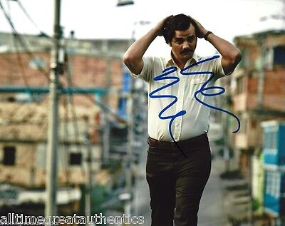 Wagner Moura Signed Narcos Tv Show 8X10 Photo 3 Coa Proof Pablo Escobar Netflix