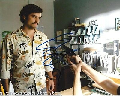 Wagner Moura Signed Narcos Tv Show 8X10 Photo 4 Coa Proof Pablo Escobar Netflix