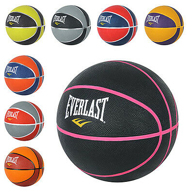 Everlast Indoor Outdoor Fun Free Play Team Sports Ball Game Size 3 7 Basketball