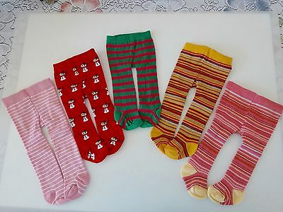 """NEW-DOLL TIGHTS Lot #199 [5 Pairs] fit 18"""" Dolls such as American Girl Dolls"""