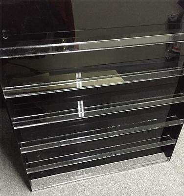 Nail Polish Cosmetics Display Case Acrylic/Perspex Wall Mounted