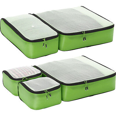 eBags Ultralight Packing Cubes - Super Packer 5pc Set Packing Aid NEW