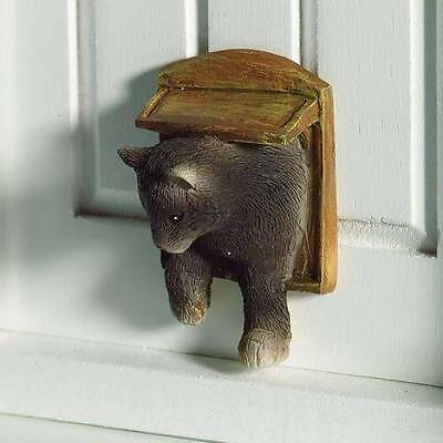 Dolls House Emporium 1/12th Scale Accessory Smokey The Cat in a Flap (4961) New