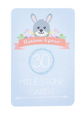 NEW - Blossom & Pear - Baby Milestone Cards in Woodland