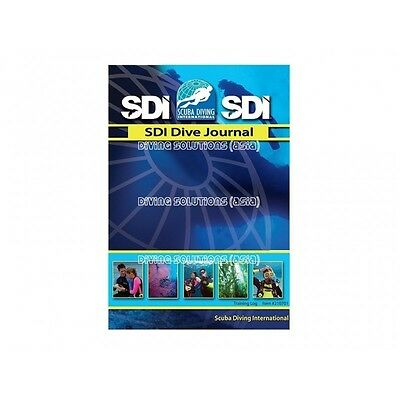 SDI Logbook Dive Journal 50 pages