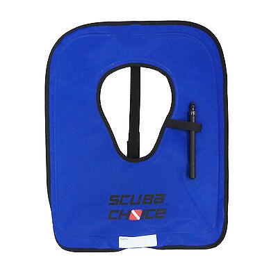 Scuba Choice Adult Royal Blue Snorkel Vest w/ Crotch Strap, Size Large