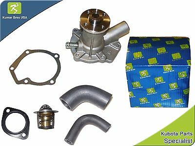 New Kubota B20 WATER PUMP with Hoses & Thermostat