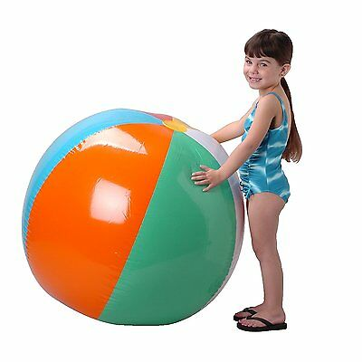 US Toy Inflatable Giant Beach Ball, 48""