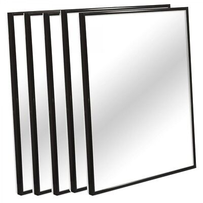 Black Silver Aluminium Picture Photo Frames Large Poster Artwork Many Sizes