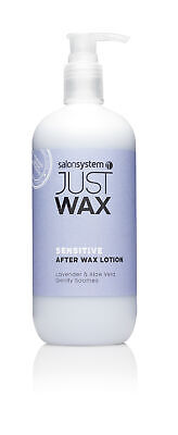 Salon System Sensitive After Wax Lotion 500ml Post Depilatory Professional Home