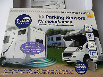 Dolphin MPS400 Motorhome Camper Van RV Reverse Parking Sensors WIth Audio Buzzer
