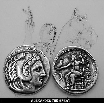 ALEXANDER/GREAT, King of Macedonia, Greek God Collection#1S