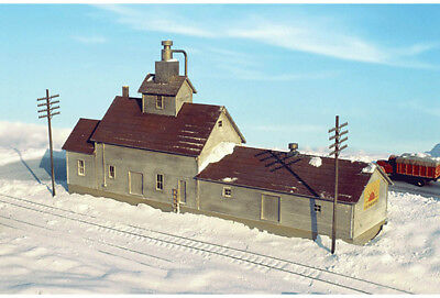Walthers Cornerstone N Scale Building/Structure Kit Sunrise Feed Mill