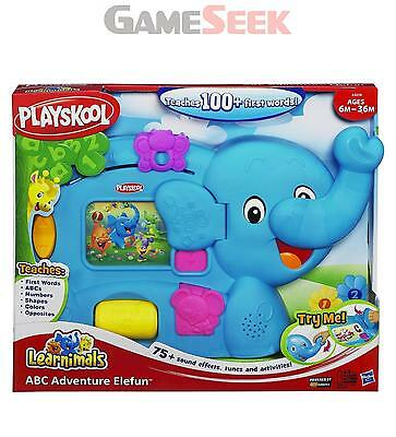 Playskool Learnimals Abc Adventure Elefun - Toys Brand New Free Delivery