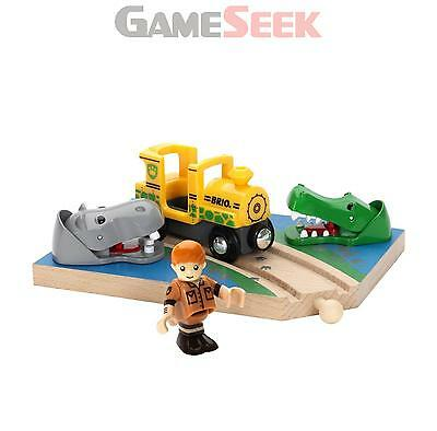 Brio Safari Crossing Bri-33721 | Free Delivery Brand New Baby Toys Pre-School