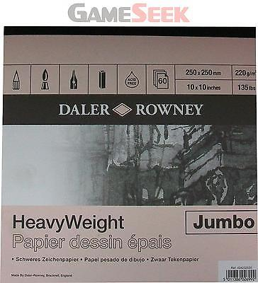 Daler Rowney Heavyweight Square Jumbo Pad