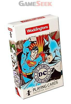 Dc Comics Playing Cards - Games/puzzles Card Games Brand New Free Delivery