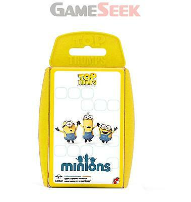 Top Trumps Minions Cards - Games/puzzles Card Games Brand New Free Delivery