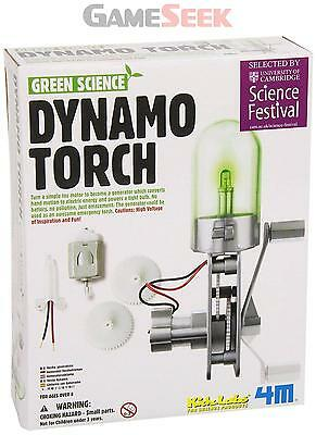 Kidz Labs - Green Science - Dynamo Torch - Toys/games Creative Play Brand New