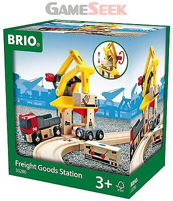 Brio Freight Goods Station Bri-33280 | Free Delivery Brand New Baby Toys