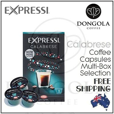 New CALABRESE Expressi Capsule Pods for Automatic Espresso Coffee Machines