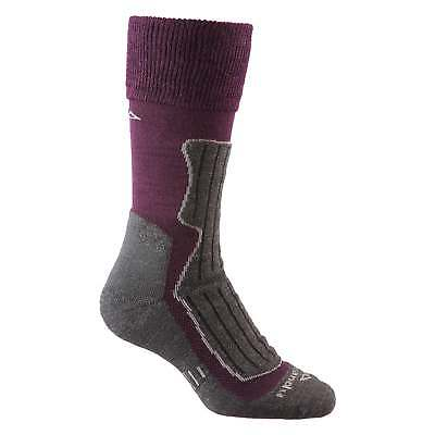 Kathmandu Alpine Trek MerinoLink Lightweight Sports Hiking Socks v2 Purple Grey