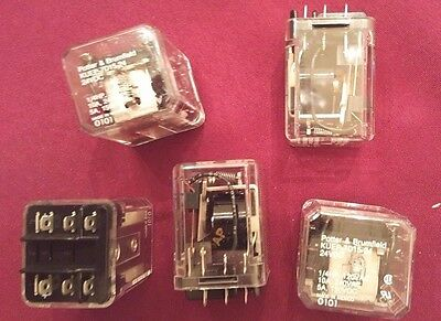 ~New~ Potter & Brumfield Plug-In Relays Qty= 5 - Kuep-7015-24 -5 Total For Sale