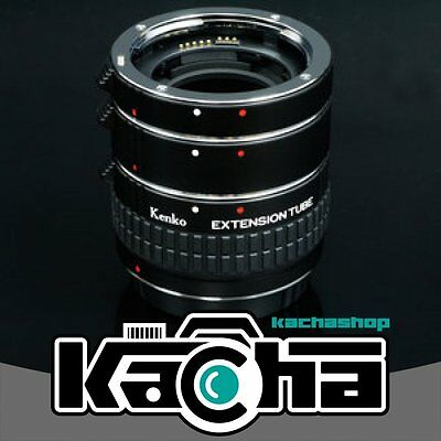 SALE Kenko Auto Extension Tube Set DG with 3 Rings for Canon
