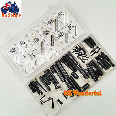 New 120 PC SAE Roll Pin Assortment Professional Industry Tool SDY-19035