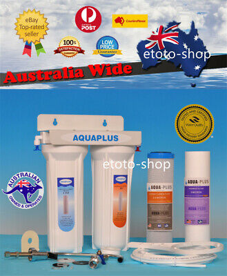 Premium Twin Dual Undersink Pure Water Filter System