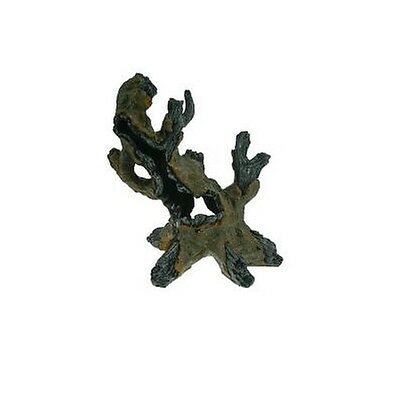 Hollow Mangrove Roots Aquarium Ornament Fish Tank Decoration 11cm