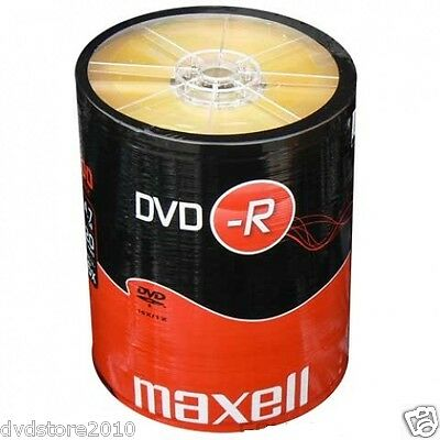 200 DVD -R Maxell vergini STOCK 4.7GB 120MIN 16X SHRINK + 1cd verbatim 275733