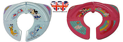 Original Children's Minnie and Mickey Mouse Foldable Plastic Toilet Seat