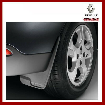 Genuine Dacia Duster Front or Rear Universal Mud Flaps / Guards. New 8201235609